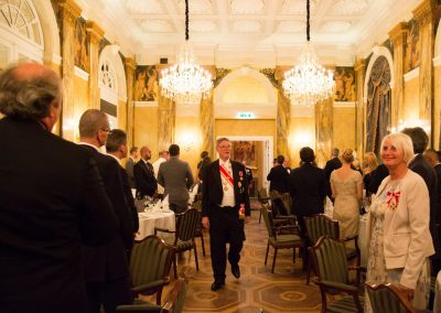 Gala Dinner - Hotel Imperial  Exz. Russell Male - Chancellor for Australasia and New Zealand and Grand Prior of Australia