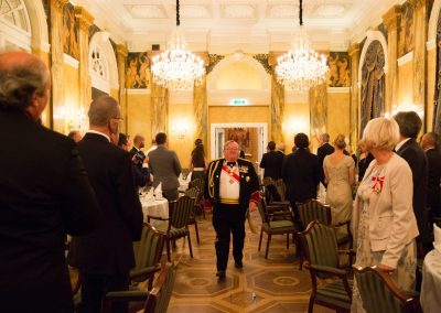 Gala Dinner - Hotel Imperial Exz. Lawrence J. Day - Grand Prior of Great Britain, Malta and Gibraltar