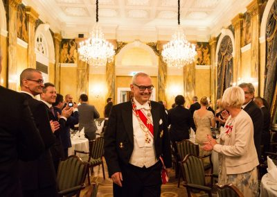 Gala Dinner - Hotel Imperial  Exz. Dr. Alexander Graff de Pancsova - Chancellor for Europe and Grand Prior of Austria