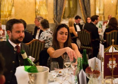 Gala Dinner - Hotel Imperial Chev. Mag. Christopher Innerkofler und Dr. Patricia Depksky