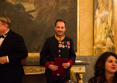 Gala Dinner - Hotel Imperial  Promotion of Chev. Mathias J. Grabher / Silver Cross of Merit