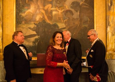Gala Dinner - Hotel Imperial  Promotion of Dame Dr. Maya Skala / Arcduchess Regina Cross