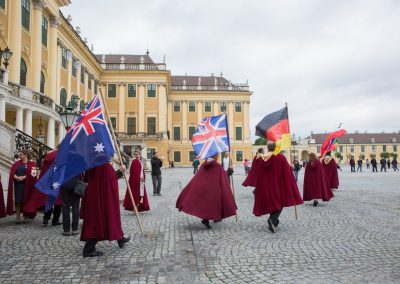 3. Internationale Investitur Schloss Schönbrunn 16. Sept. 2017