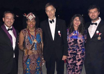 Annual Reception 2018 - Flame of Peace